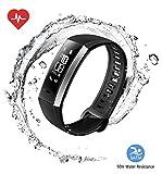 Huawei Band 2 Pro All-in-One Activity Tracker Smart Fitness Wristband   GPS   Multi-Sport Mode  Heart Rate   Sleep Monitor   5ATM Waterproof, Black (US Warranty)