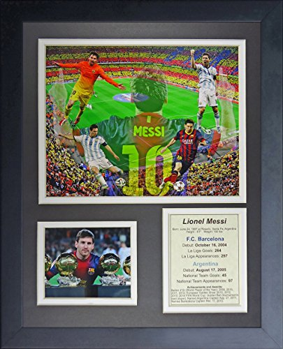 - Legends Never Die Lionel Messi Collage Photo Frame, 11