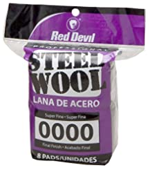 Red Devil 0320 Steel Wool, 0000 Super Fi...