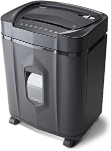 Aurora AU1415XA 14-Sheet Crosscut Paper/CD and Credit Card Shredder/ 5-Gallon pullout Basket/ 10 Minutes Continuous Run Time