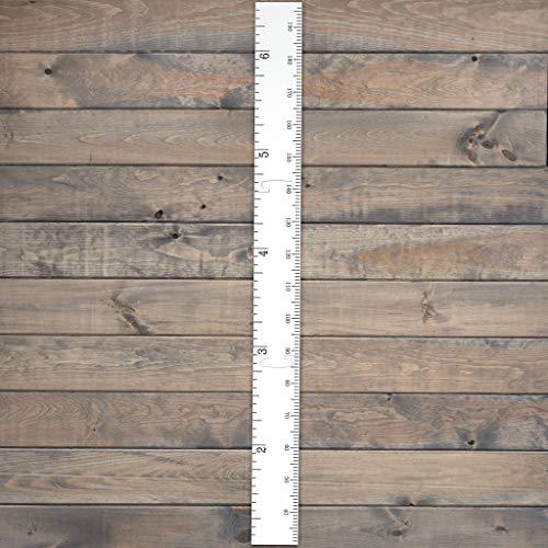 Growth Chart Art Schoolhouse Wooden Ruler Growth Chart for Kids, Boys & Girls - Chart For Art Kids Growth