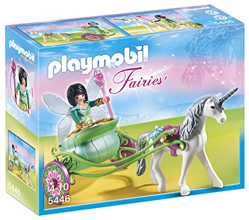 PLAYMOBIL® Unicorn Carriage with Butterfly Fairy Playset ()