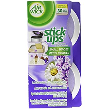 Air Wick Stick Ups Air Freshener, Lavender and Chamomile 2ct, 2.1 oz (Pack of 6)