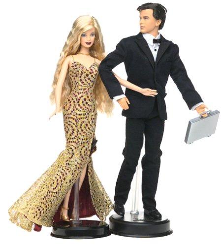 Barbie Loves Pop Culture: James Bond 007 Ken and Barbie Gift Set