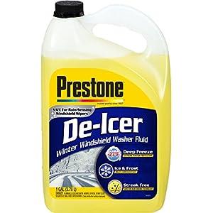 Prestone AS250 De-Icer Windshield Washer Fluid - 1 Gallon