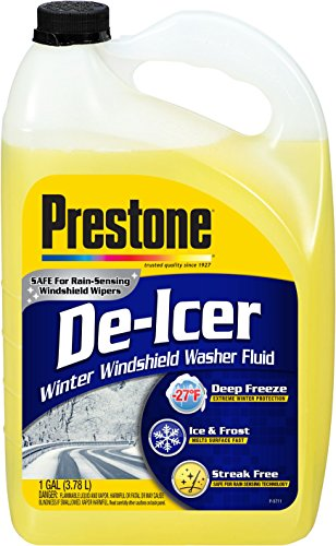 (Prestone AS250 De-Icer Windshield Washer Fluid - 1 Gallon)