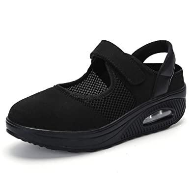 Amazon.com: Zapatillas de malla para mujer CYBLING para ...