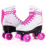 C SEVEN Cute Quad Roller Skates for Kids and Adults