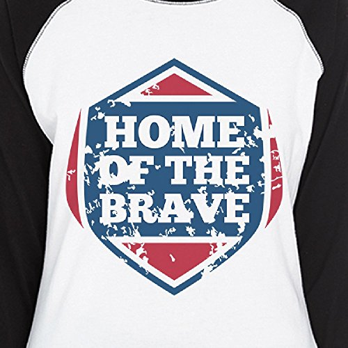 365 The Unique T Courtes Brave Of Home Femme Printing Taille Manches shirt FF0r1vq