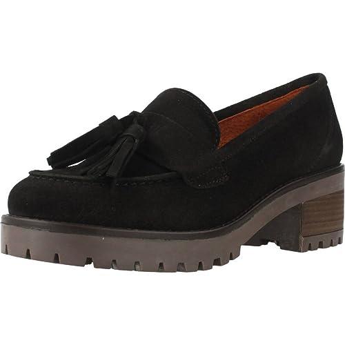 Mocasines para Mujer, Color Negro, Marca YELLOW, Modelo Mocasines para Mujer YELLOW Toledo Negro: Amazon.es: Zapatos y complementos