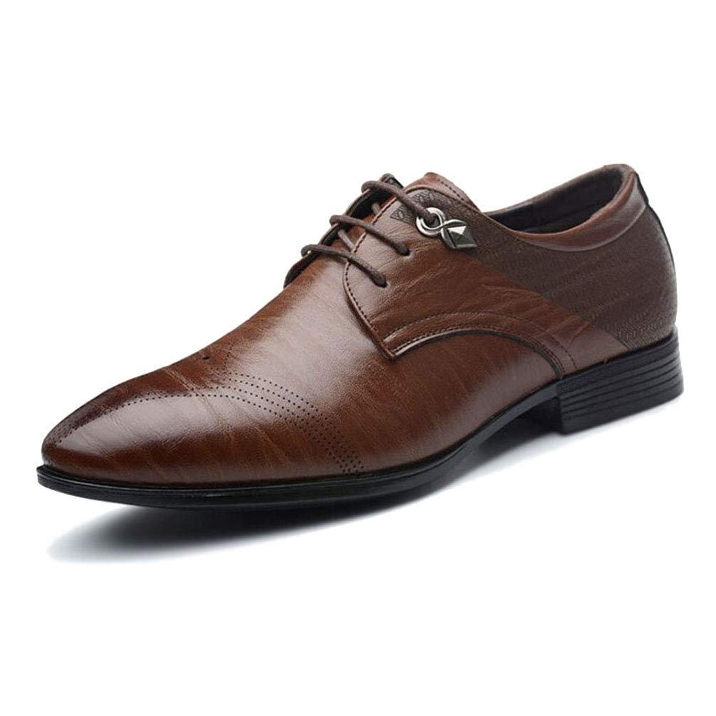 Mens Dress Shoes Business Pointed Toe Fashion Banquet Oxford Shoes