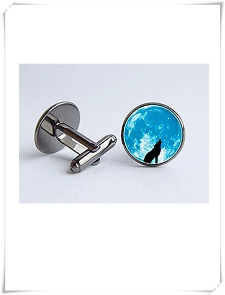 Amazon.com: Lobo y luna Gemelos Blue Moon marido regalo ...
