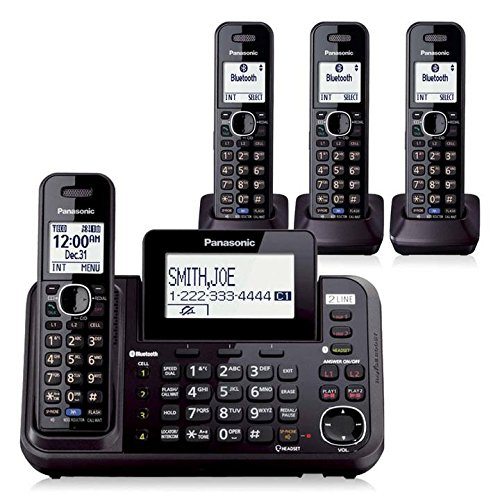 Panasonic KX TG9542B Cordless TGA950B Handsets product image