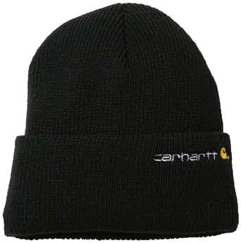 Carhartt Men's Wetzel Watch Hat, Black, One Size at Amazon