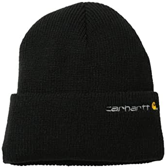 Carhartt Men's Wetzel Watch Hat,Black,One Size