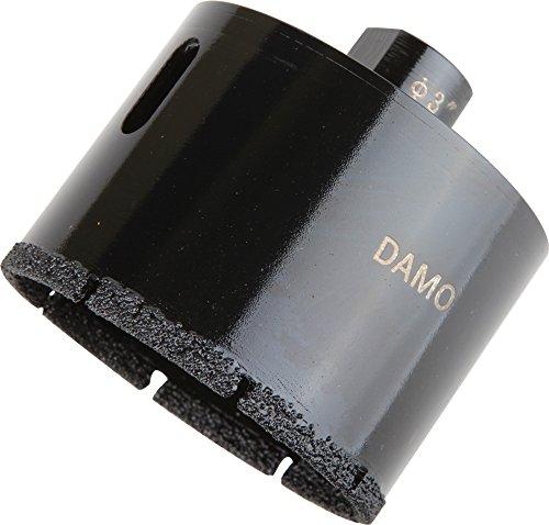 Core Concrete Grinder - DAMO 3 inch Dry Wet Diamond Core Drill Bit for Concrete Granite Marble Hole Saw
