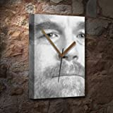 Seasons Philip Seymour Hoffman - Canvas Clock (A5 - Signed by The Artist) #js003