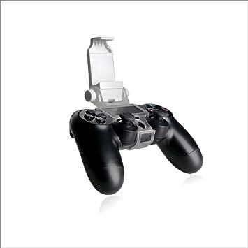 Blanco PS4 Smart Clip – Teléfono móvil soporte abrazadera para Playstation 4 Gamepad Controlador: Amazon.es: Electrónica
