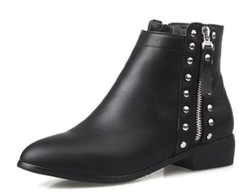 KUKI autunno e inverno donne stivali tacchi caldo casual stivali scarpe basse donna , US6.5-7 / EU37 / UK4.5-5...