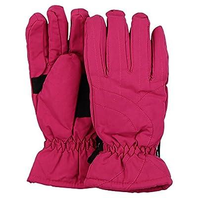 Women's Thinsulate Lined Waterproof Microfiber Winter Ski Gloves