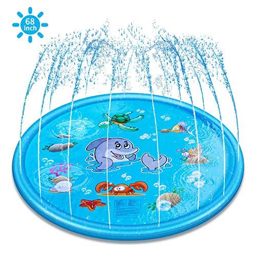 (ELECTRAPICK Splash Pad & Sprinkle Play Mat, Upgraded 68