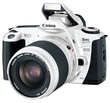 canon eos rebel 2000 silver date 35mm slr camera deluxe kit with 28 rh amazon ca canon rebel 2000 eos manual pdf manual canon rebel 2000 español