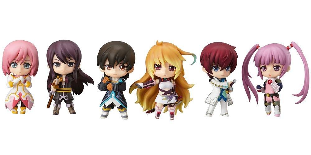 Tales Of Series Nendorid Petite Mini PVC Figurines (Display of 8)