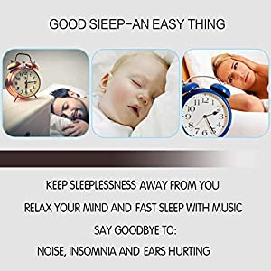 Sleep Soundproof Earbuds Headphones, Noise Isolating Soft Earbuds for Sleeping, Nighttime, Insomnia, Side Sleeper, Snoring, Travel, Meditation & Relaxation (black)