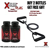 X-SLIM PLUS®: Powerful Fat Burner Capsules - 120 Count - (2 Month Supply) Receive Resistance Band ($19 value) FREE With Your Purchase.