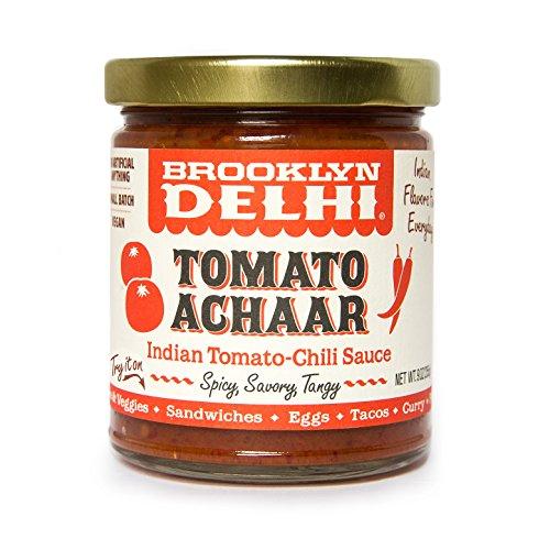 Brooklyn Delhi Tomato Achaar - Indian Chili Sauce, 9 Oz