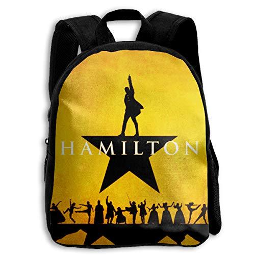 LILISALA Alexander Lin Manuel-Miranda Hamilton Kids School Backpack School Bag Student Stylish Book Bag Rucksack Daypack Perfect for School Office Or Travel Black