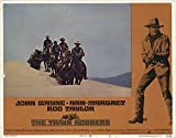 """The Private: Train Robbers 1973 Authentic 11"""" x 14"""" Original Lobby Card Ann-Margret Western"""