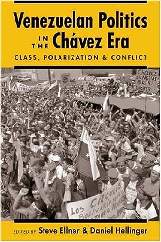 and Conflict Polarization Venezuelan Politics in the Chavez Era Class