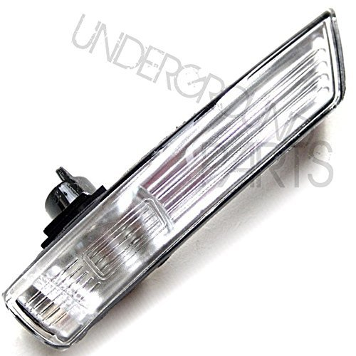 Underground Parts F-FC-20R Right Offside Drivers Side Wing Mirror Indicator Lense Clear Plastic