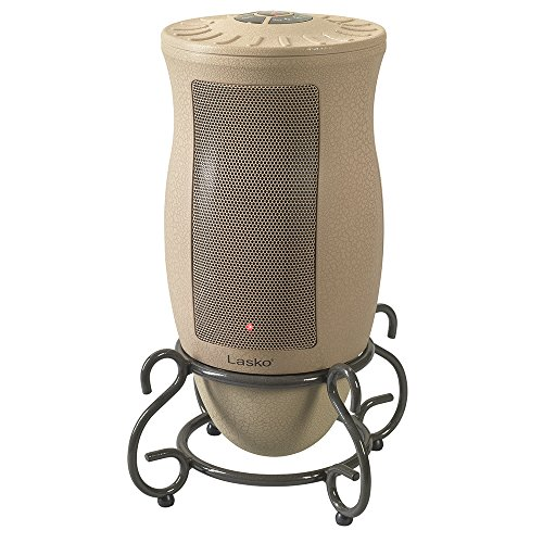 Lasko Designer Series Ceramic Space Heater-Features Oscillation, Remote, and Built-in Timer