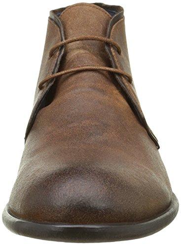 Oscar Tdm Vlours Marron cr v Hexagone Camel Boots Desert Rustique Homme ScTnyd7