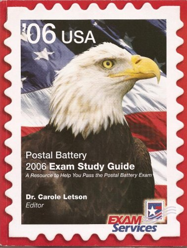 Download '06 USA Postal Battery 2006 Exam Study Guide: A Resource to Help You Pass the Battery Exam ebook