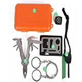 5 in 1 Professional Survival Kit Outdoor Travel Hike Field Camp Emergency Kits