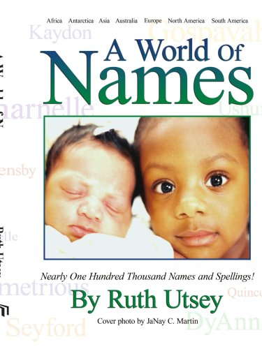 Search : A World of Names: Nearly One Hundred Thousand Names and Spellings!