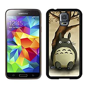 Perfect fit for your beloved phone,100% Brand New My Neighbor Totoro 14 Black For Samsung Galaxy S5 i9600 Case