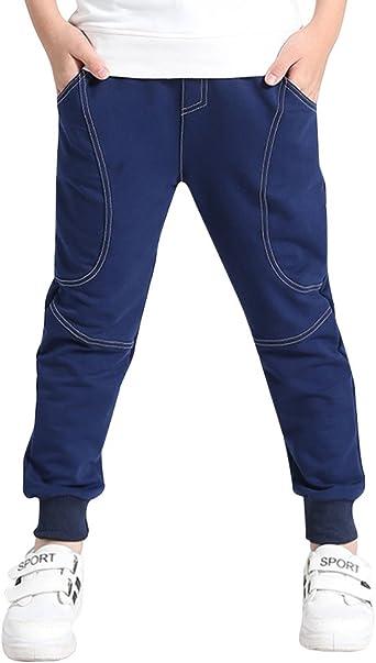 DianShao Niños Pantalones De Chándal De Jogging Deporte ...