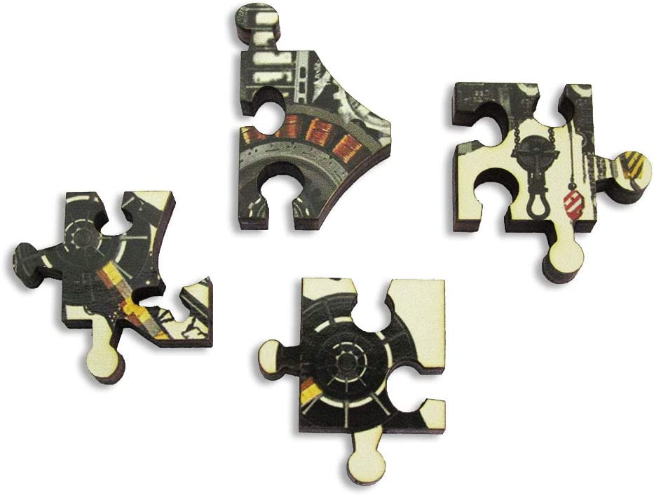 Artifact Puzzles Diego Mazzeo Mechanical Griffin Wooden Jigsaw Puzzle