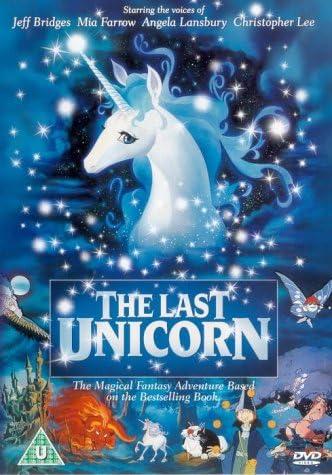 The Last Unicorn [DVD]: Amazon.co.uk: Jeff Bridges, Mia Farrow ...