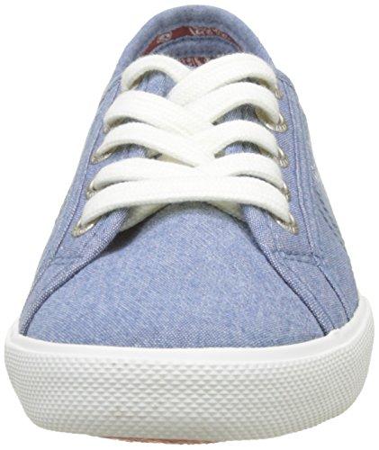 Mujer Eighty Azzurro Jeans Azul para Aberlady Zapatillas Pepe aqxXWwEZx