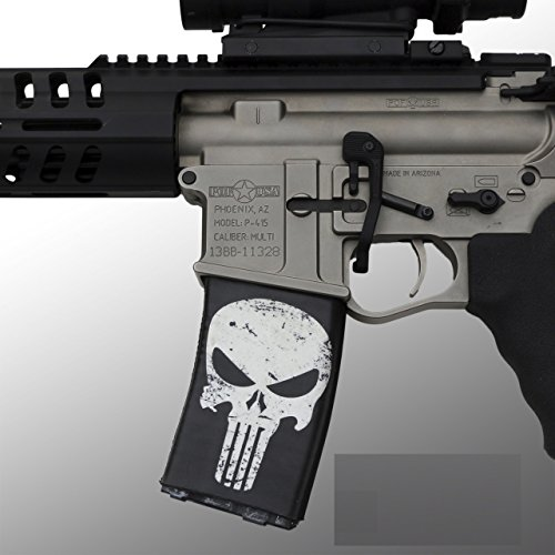 ultimate-arms-gear-ar-mag-cover-socs-for-30-40rd-polymer-pmag-mags-punisher-dirty-black-white