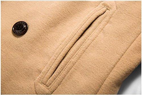 S Chaud Tops Femme Manteaux XXXXXL SHOBDW Taille Mode Blouson Kaki Tops Casual Maxi Grande Hiver 7Sqwwg
