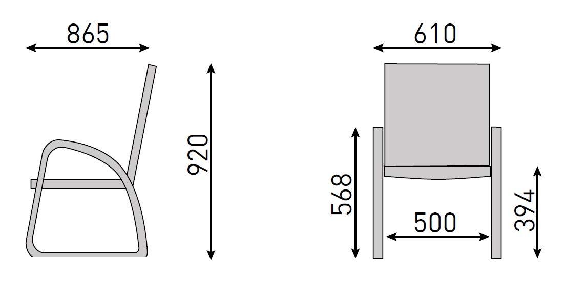 Kettler Easy Loungesessel Aluminium Outdoorgewebe anthrazit//anthrazit
