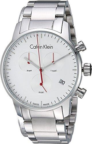 Calvin Klein Mens City Watch - K2G271Z6 Silver One (Calvin Klein Mens Bracelet)