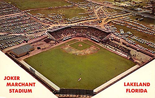 Joker Marchant Stadium, Spring Training of the Detroit Tigers Baseball Stadium Postcard Post Card Lakeland, FL, USA unused