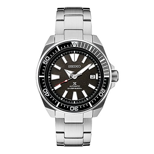 (Seiko Prospex Samurai Stainless Steel Automatic Dive Watch 200 meters SRPB51)
